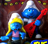 Smurfs band players singer and guitar player